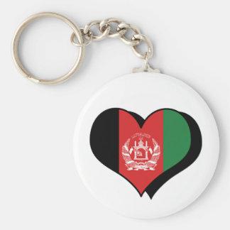 I Love Afghanistan Keychain