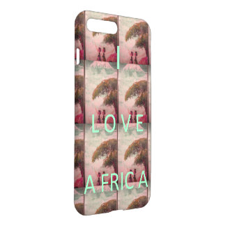 I love Africa Glossy iPhone 7 Plus Cases & Covers