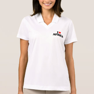 I LOVE AFRICA POLO T-SHIRTS