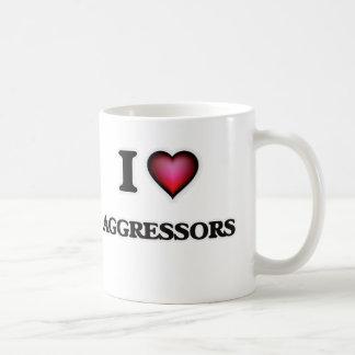 I Love Aggressors Coffee Mug