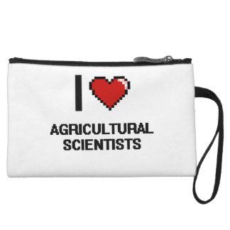 I love Agricultural Scientists Wristlet Purse