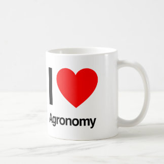 i love agronomy coffee mug