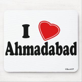 I Love Ahmadabad Mouse Pad