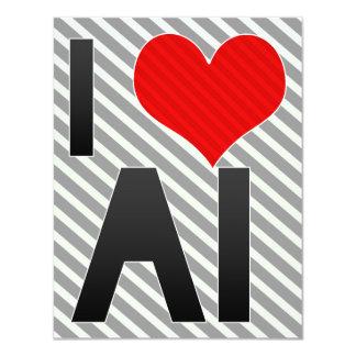 I Love AI Invitation
