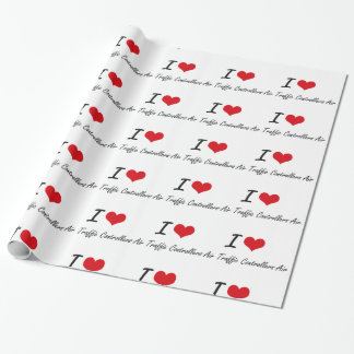 I love Air Traffic Controllers Wrapping Paper