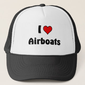 I love airboats trucker hat