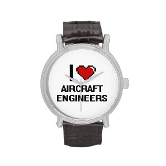 I love Aircraft Engineers Wristwatches