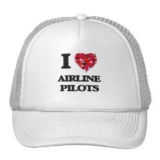 I love Airline Pilots Cap