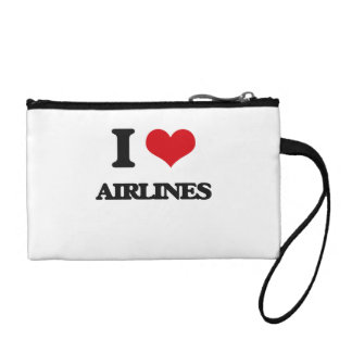 I Love Airlines Change Purse