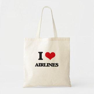 I Love Airlines Bag