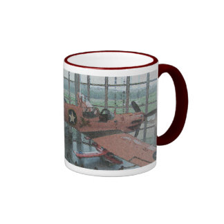 I Love Airplanes Coffee Mug