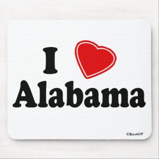 I Love Alabama Mousepad