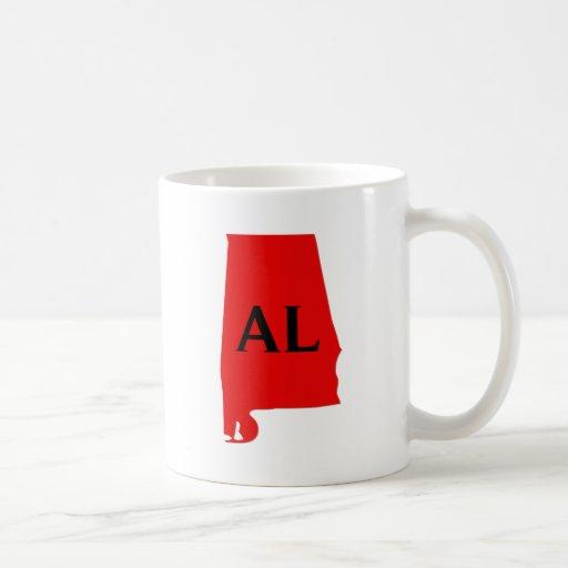 I Love Alabama State Mugs