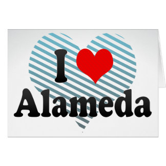 I Love Alameda, United States Card