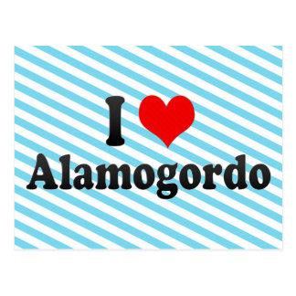 I Love Alamogordo, United States Postcard