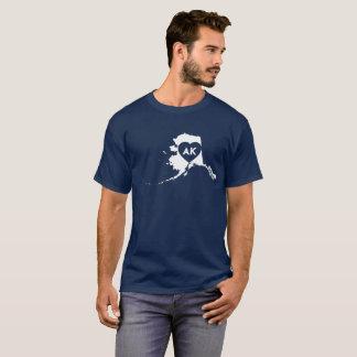 I Love Alaska State Men's Basic Dark T-Shirt