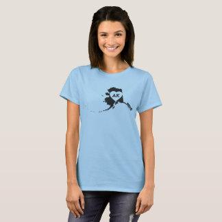 I Love Alaska State Women's Basic T-Shirt