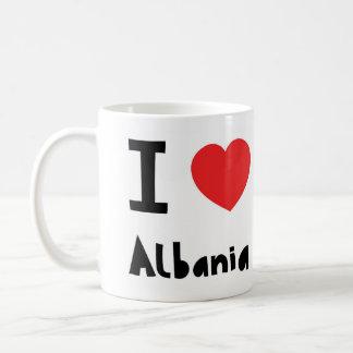 I love Albania Coffee Mug