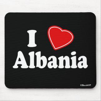 I Love Albania Mousepad