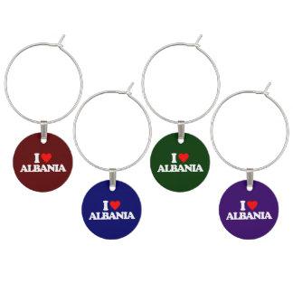I LOVE ALBANIA WINE CHARM