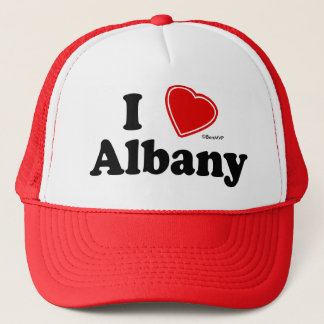 I Love Albany Trucker Hat