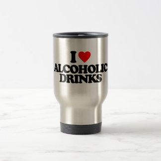 I LOVE ALCOHOLIC DRINKS MUG