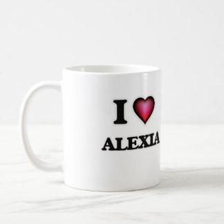 I Love Alexia Coffee Mug
