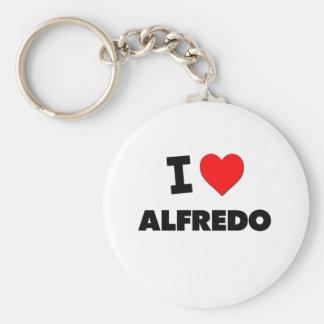 I love Alfredo Keychain