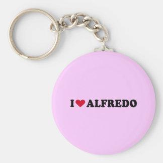 I LOVE ALFREDO KEYCHAINS