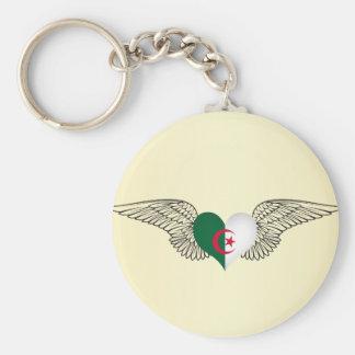 I Love Algeria -wings Key Ring
