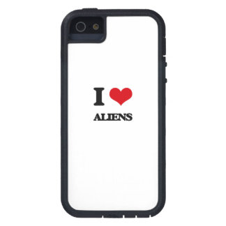 I Love Aliens iPhone 5/5S Cover