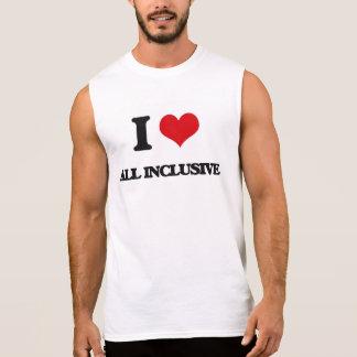 I Love All-Inclusive Sleeveless Shirt