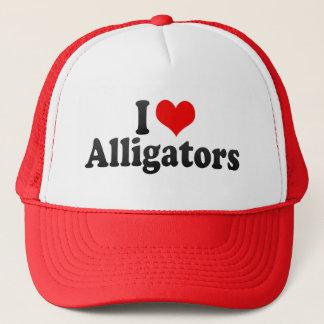 I Love Alligators Trucker Hat
