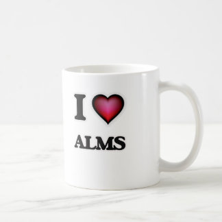 I Love Alms Coffee Mug