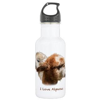 I Love Alpacas 532 Ml Water Bottle