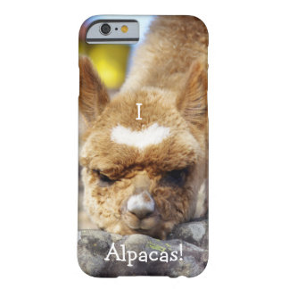 I love alpacas cell phone case