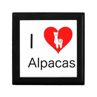 I love alpacas gift box