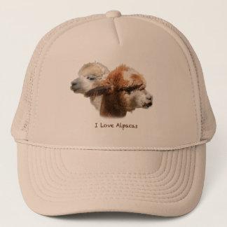 I Love Alpacas Hat