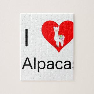I love alpacas jigsaw puzzle