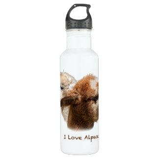 I Love Alpacas Water Bottle