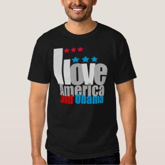 I love America and Obama Tshirts