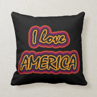 I Love America Cushion