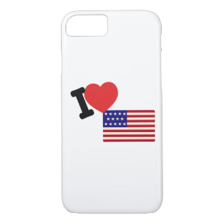 I love America iPhone 8/7 Case