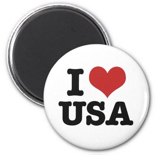 I Love America Fridge Magnet