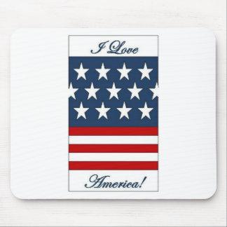 I_Love_America Mouse Pad