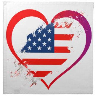 I love America Napkin