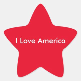 I Love America Stickers