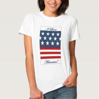 I_Love_America T Shirts