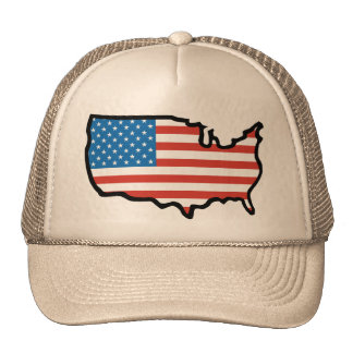 I Love America - United States Flag Trucker Hat