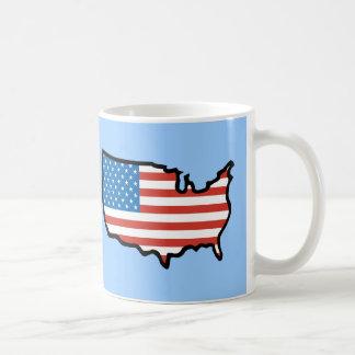 I Love America - United States Flag Mugs